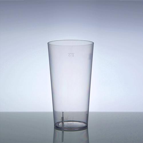 Cajun beer and soda glass 17.6.oz